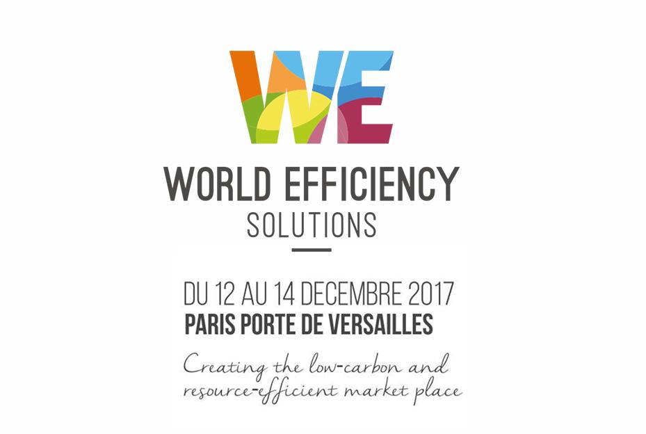 Efficacity efficacity pr sent au salon world efficiency 2017 - Programme des salons porte de versailles ...